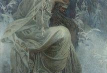 Alphonse Mucha           (Czech)