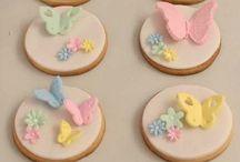 vintage & flower cookies