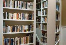 Hidden Rooms/Bookcases