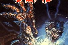 80s VHS Cover Art / I miss seeing this down at the video rental shop! Usually, the better the cover, the worse the film. In regards to horror, anyway. :)