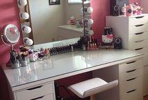 decoração de makeup