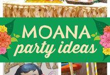 moana party idea's