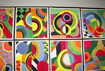 geo abstract art lessons