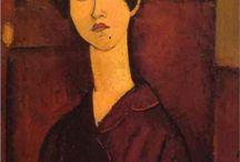 Art / Amedeo Modigliani / by Victoria Buttigieg