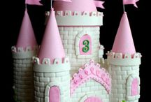 castle cakes for girls birthday