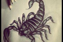 escorpião tattoo ideias