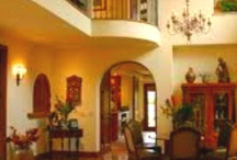 Spanish Interiors / Interior decor for traditional Spanish residences.