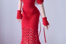 Roupas crochê dolls