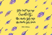 Creative Inspiration / You might think the great artists of the world have it all figured out, but these quotes show that inspiration is both tricky and attainable for everyone. If you're looking for a little yourself, we've rounded up our favorite famous creative quotes with beautiful illustrations to match: https://99designs.com/blog/creative-inspiration/famous-creative-quotes/