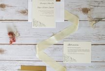 Cream and Gold Wedding