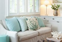 Decor ~ Coastal. / Coastal Cool Decor. / by Kim Wolf