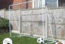 Football Soccer Goal Post Football Match Training Home Garden Outdoor Play Kids