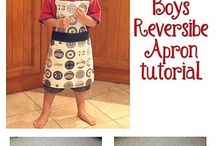 How to Sew - Apron Tutorial