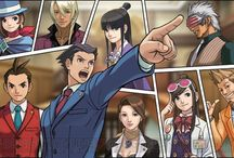 Ace Attorney / by Michael Vincent
