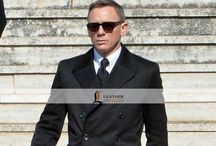 Spectre Daniel Craig James Bond 007 Black Coat / Buy Spectre Daniel Craig James Bond Black Coat thats will boost your personality  and make you feel like a BOND James Bond so this coat can be yours in just 3 simple steps. go to LeathersJackets.com
