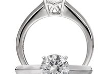 Engagement Rings: Solitaire / Engagement rings with a solitaire setting. Looking to get engaged? Visit Radcliffe Jewelers in Baltimore, MD.