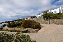 Studio Iro #Mykonos #Greece #Island / Studio Iro in the island of Mykonos is a luxurious studio accommodating 2 people. It is located in Choulakia, a quiet part of the island, in the North West of Mykonos, famous for its rounded rocky beach. http://www.mygreek-villa.com/rent-villa-search/studio-iro-mykonos-island-greece