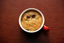 Eggless Chocolate Chip Mug Cookie / Just for a lazzy day!!