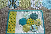 Place mats and mug rugs