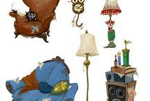 Props_Furnitures