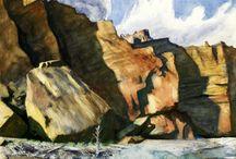 Cliff & rocks
