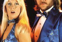 ABBA Blue Satin