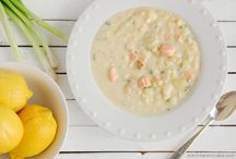Recipes - Soups and Chowders