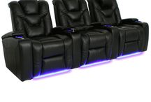 Power Headrests / This board collects the home theater seats with powered headrests. #hometheater #hometheaterseating