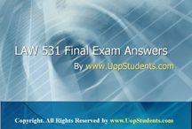 UOP LAW 531 Final Exam /  http://www.UopStudents.com Click here to download Complete Answers of LAW 531 Final Exam Answers http://goo.gl/I0L1yJ
