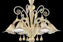 Żyrandole prosto z wenecji / #lampy, #zyrandole, #szklo_weneckie, #murano, #handmade