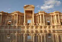 Palmíra-Sýrie