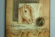 Cards--Horses & Western