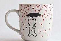 İlginç Kupalar / İlginç tasarımlı kupa bardaklar ile tanışmaya ve sevdiklerinizi tanıştırmaya ne dersiniz? Bu kupalar sizi kendisine aşık edecek güzellikte.