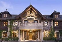 CELEBRITY HOMES&(MOVIE HOUSES) / I love houses big & small,Castles and cottages,i love them all! / by Mary Richard