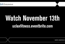 Webinar: Fitness (Nov 13) / Free Webinar - Expert Insights into Fitness & Nutrition There is more to fitness than just working out. Take your Fitness IQ. Get tips on achieving peak performance, choosing fitness technology, nutrition & eating for optimal health, group exercise, the importance of fitness as we age, fit families and more from UCLA Extension experts. Watch our FREE Fitness Webinar. Bonus: Drawing for one fitness instruction course up to $650. Don't wait. Register Now!  https://uclaxfitness.eventbrite.com