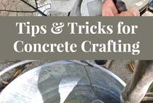 concrete/cement crafts