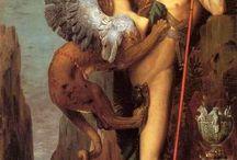 hybride : Oedipe et le Sphinx