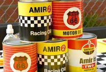 Racing Car Themed Birthday