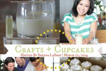 Crafts + Cupcakes - March 2014