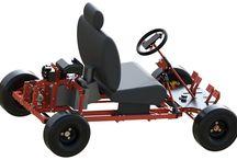 Building kit go-kart