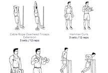 Monday - Sunday workout / by Gerald Kelsey