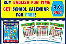 ENGLISH FUN TIME (EVELINA'S ESL TEACHING RESOURCES) / his pack contains 10 units covering the following topics: 1. Body parts; 2. Clothes; 3. Colours; 4. Days of the week; 5. Food and drinks; 6. Months of the Year; 7. Numbers; 8. Place prepositions; 9. School objects; 10. Weather.  RESOURCES AVAILABLE HERE:  http://eslchallenge.weebly.com/  All worksheets have a black and white version!  Hope you enjoy the resources! HAVE FUN...!  For further information, please email me at: eslteachingresources@hotmail.com  Evelina Aguiar