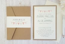 Wedding Invitation Designs / A collection of our wedding invitation designs available now.