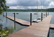 ponton bois flottant / ponton bois flottant