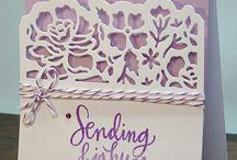 Card - SU floral thinlit