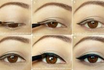 Línea de ojos.