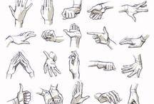 Как нарисовать руки