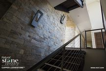 Stairwells with Stone