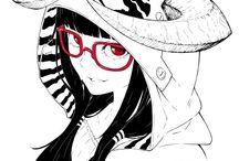 Art Manga portrait