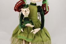 my private collection ooak art dolls / My private collection ooak art dolls / Moja prywatna kolekcja lalek artystycznych